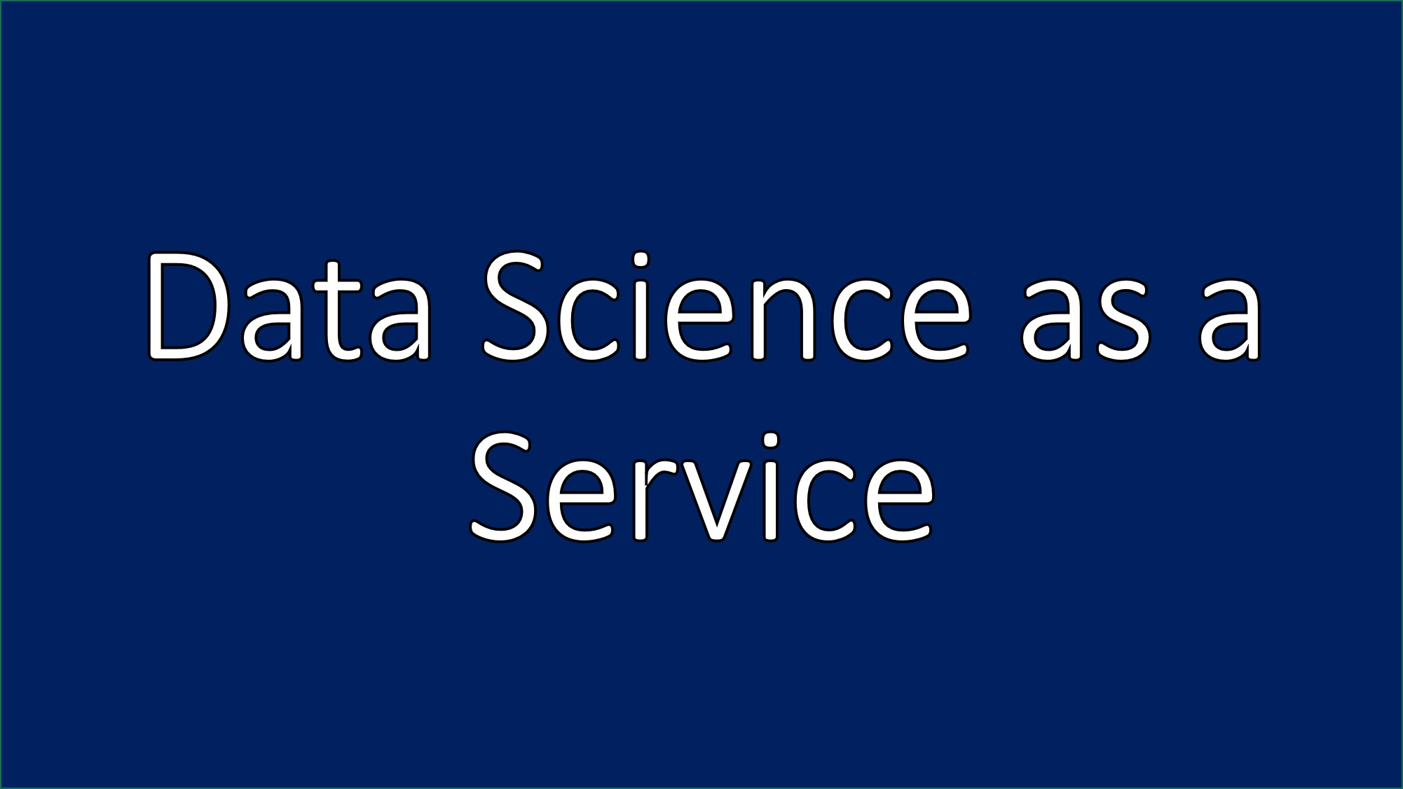 Press Release: datazuum launches Data Science as a Service Offering